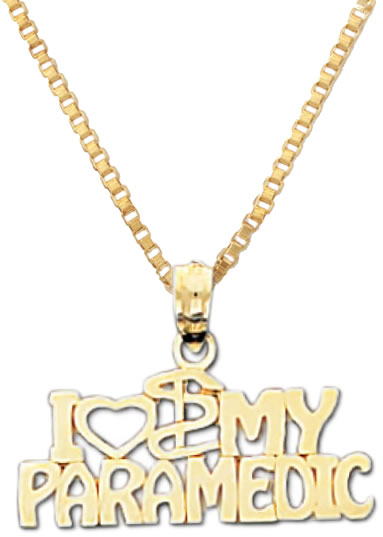 14k-Yellow-Gold-I-Love-My-Paramedic-Medical-EMT-Pendant-Charm-Necklace