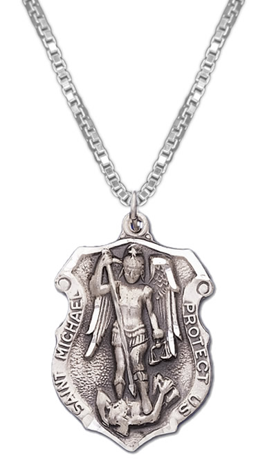 new 0 925 sterling silver archangel st michael